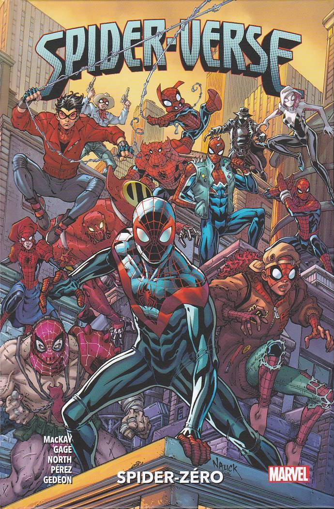 Couverture de Spider-Verse - Spider-Zero