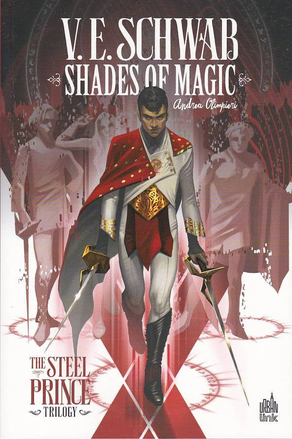 Couverture de Shades of magic -1- The steel prince trilogy