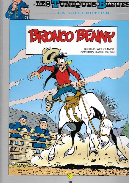 Couverture de Les tuniques Bleues - La Collection (Hachette, 2e série) -1016- Bronco benny