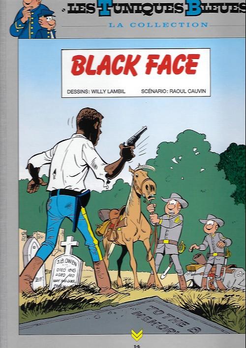 Couverture de Les tuniques Bleues - La Collection (Hachette, 2e série) -1420- Black face