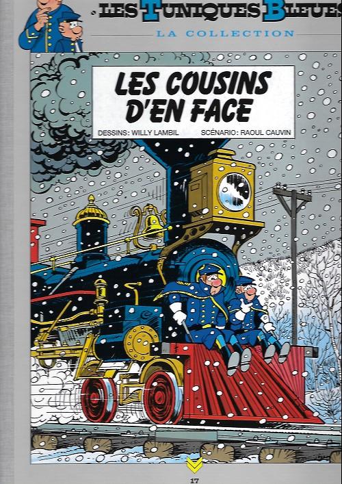 Couverture de Les tuniques Bleues - La Collection (Hachette, 2e série) -1723- Les cousins d'en face