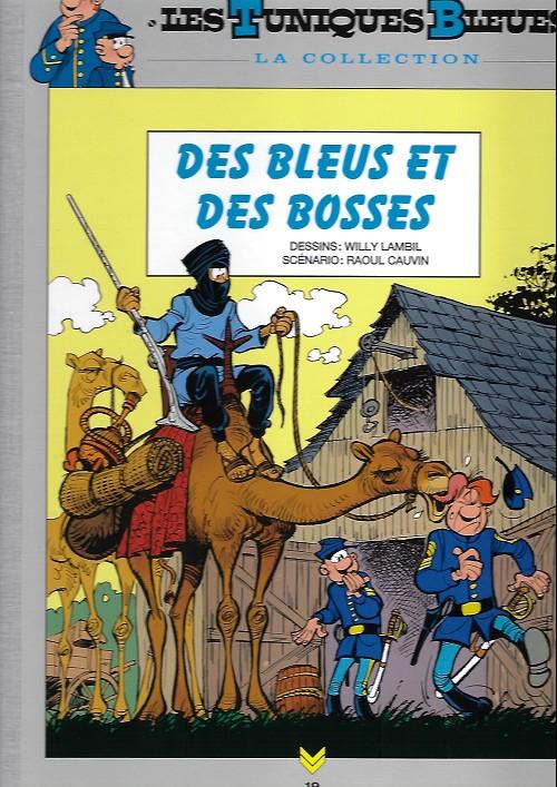 Couverture de Les tuniques Bleues - La Collection (Hachette, 2e série) -1925- Des bleus et des bosses