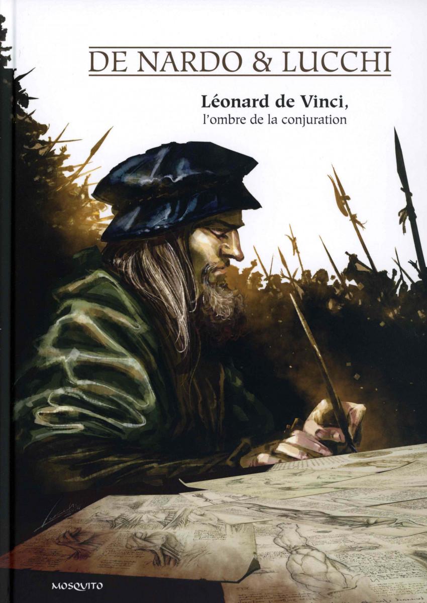 Couverture de Léonard de Vinci, l'ombre de la conjuration