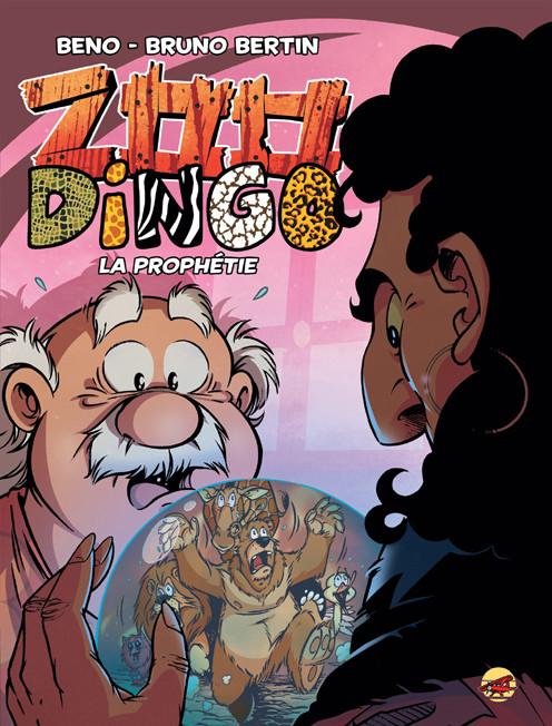 Couverture de Zoo Dingo -7- la prophésie