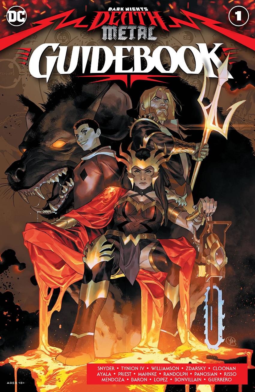 Couverture de Dark Nights: Death Metal Guidebook (2020) -1- Guidebook