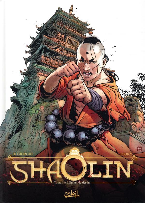 Couverture de Shaolin -1- L'Enfant du destin