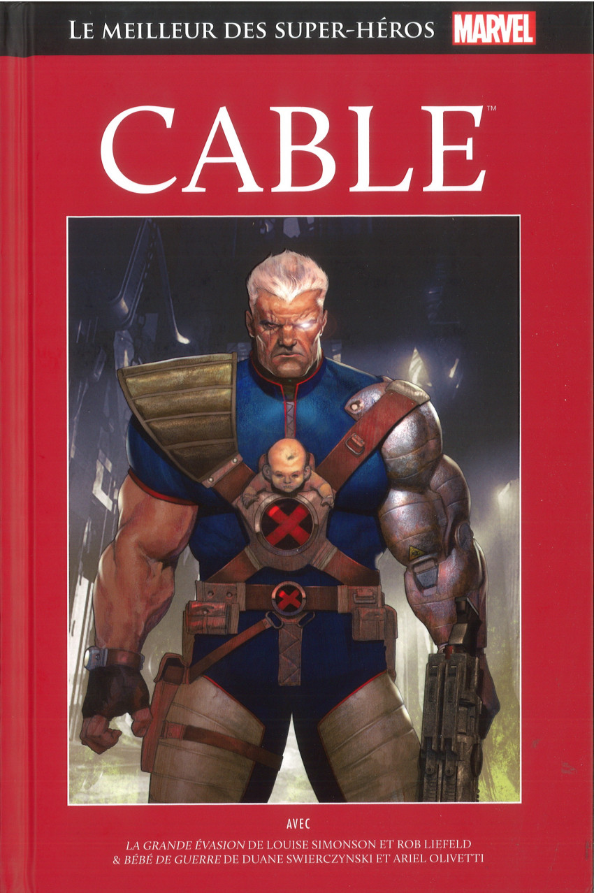 Couverture de Marvel Comics : Le meilleur des Super-Héros - La collection (Hachette) -119- Cable