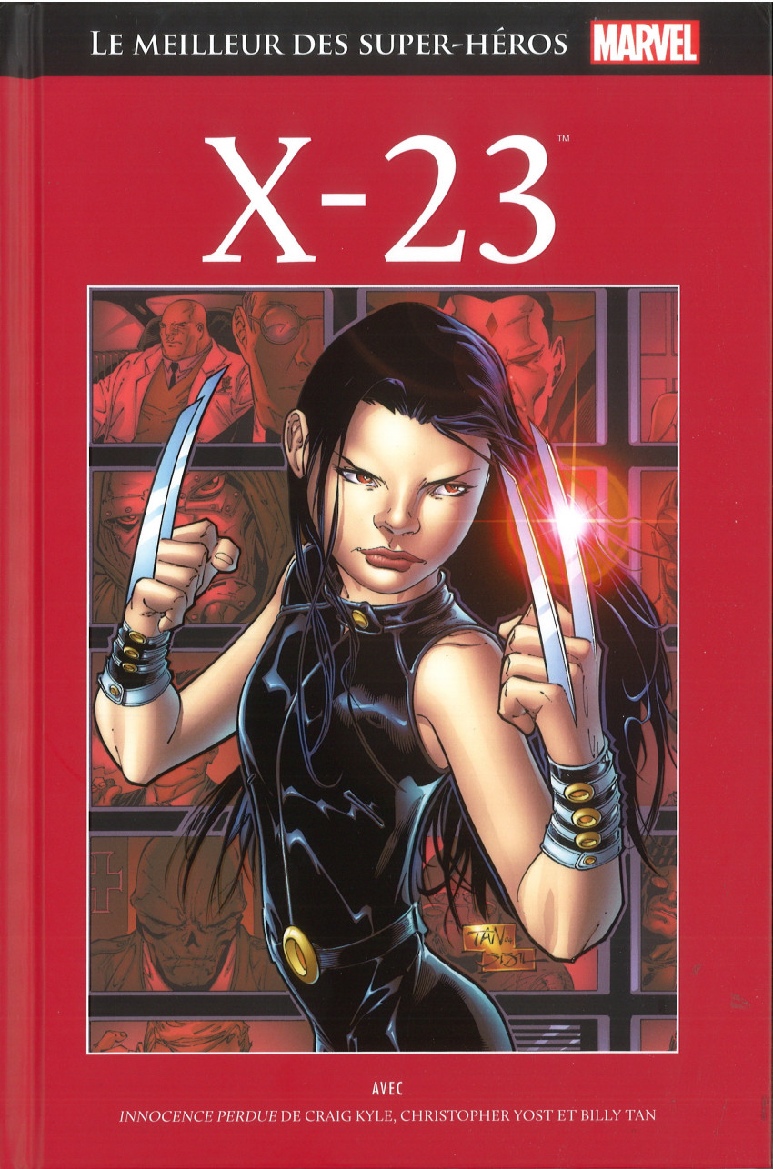 Couverture de Marvel Comics : Le meilleur des Super-Héros - La collection (Hachette) -118- X-23