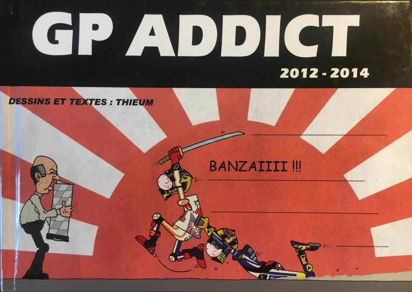 Couverture de GP Addict - GP Addict 2012-2014