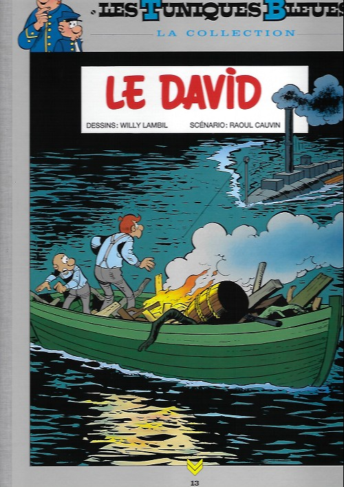 Couverture de Les tuniques Bleues - La Collection (Hachette, 2e série) -1319- Le david