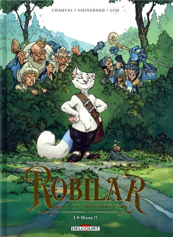 Couverture de Robilar ou le Maistre Chat -1- Maou !!