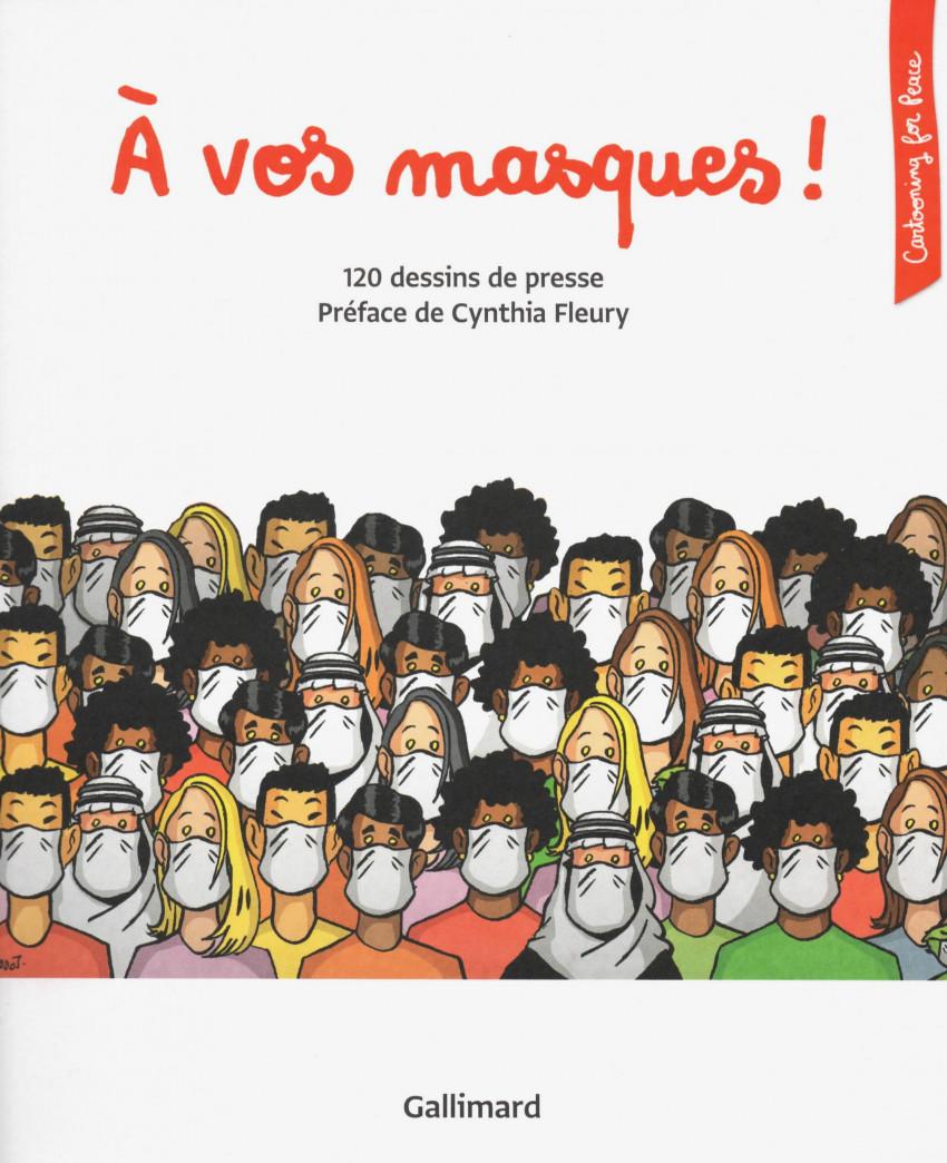 Couverture de Cartooning for Peace - A vos masques!