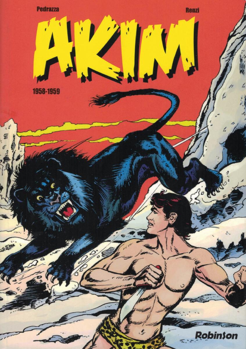 Couverture de Akim l'integrale -1.- Akim (1958-1959)