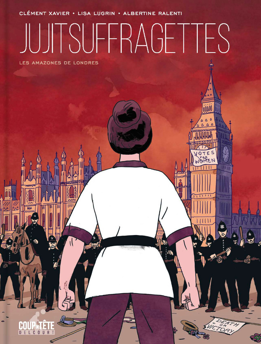 Couverture de Jujitsuffragettes