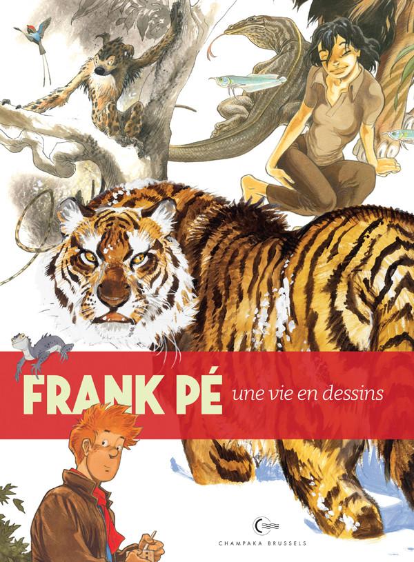 Couverture de (AUT) Frank (Pé) - Une vie en dessins