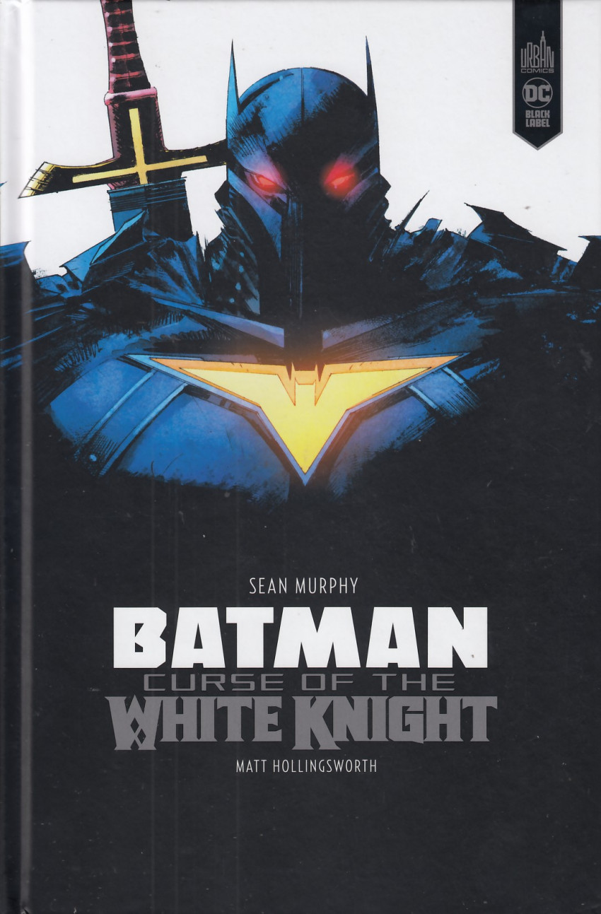 Couverture de Batman - Curse of the White Knight