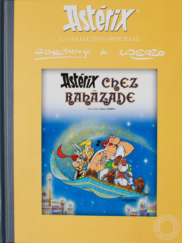 Couverture de Astérix (Hachette collections - La collection officielle) -28- Astérix chez Rahãzade