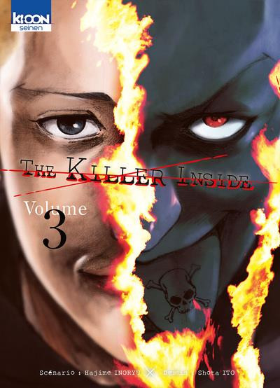 Couverture de Killer Inside (The) -3- Volume 3