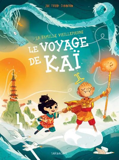 Couverture de La famille Vieillepierre -3- Le voyage de Kaï