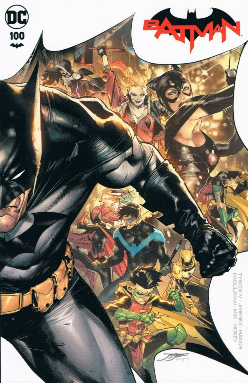 Couverture de Batman (DC Comics - 2016) -100- The Joker War, Finale