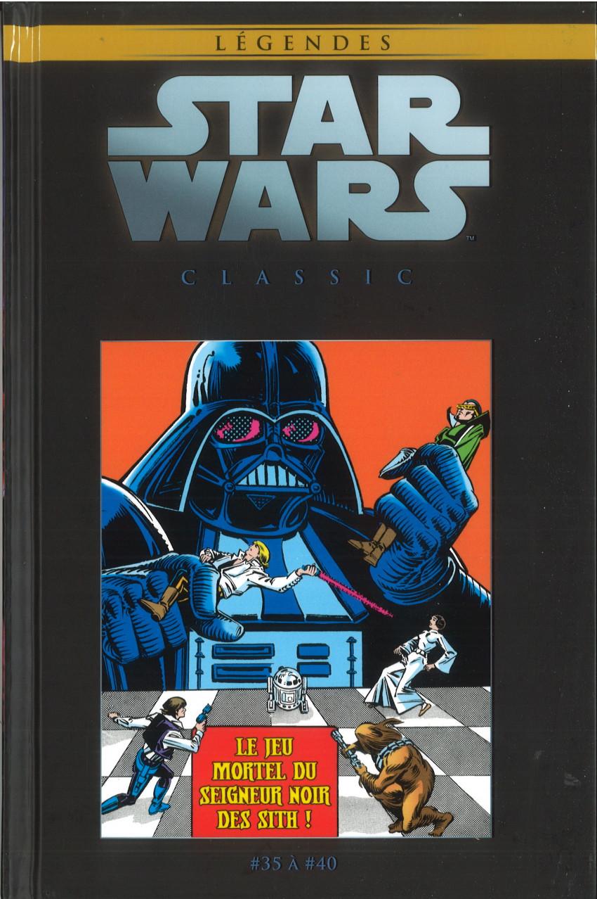 Couverture de Star Wars - Légendes - La Collection (Hachette) -122122- Star Wars Classic - #35 à #40