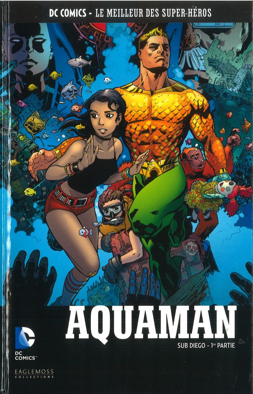 Couverture de DC Comics - Le Meilleur des Super-Héros -128- Aquaman - Sub Diego - 1re Partie