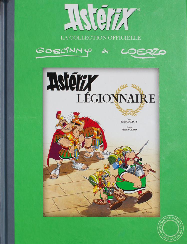 Couverture de Astérix (Hachette collections - La collection officielle) -10- Astérix Légionnaire