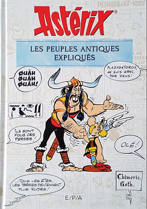 Couverture de Astérix (Autres) - Les peuples antiques expliqués
