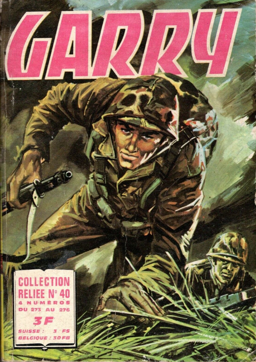 Couverture de Garry (Impéria) (2e série - 190 à 456) -Rec40- Collection Relié N°40 (du n°273 au n°276)