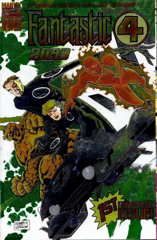 Couverture de Fantastic Four 2099 (Marvel comics - 1996) -1- Issue # 1