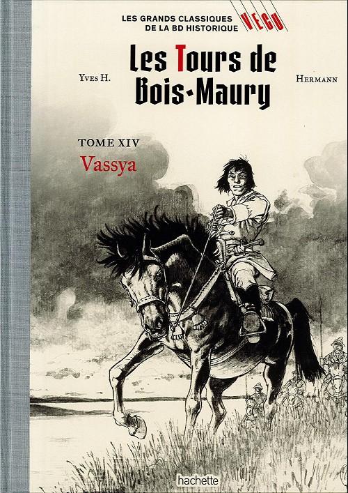Couverture de Les grands Classiques de la BD Historique Vécu - La Collection -23- Les Tours de Bois-Maury - Tome XIV : Vassya