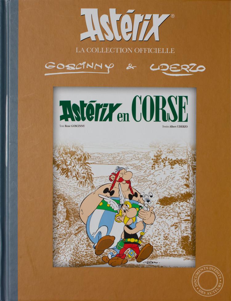 Couverture de Astérix (Hachette collections - La collection officielle) -20- Astérix en Corse