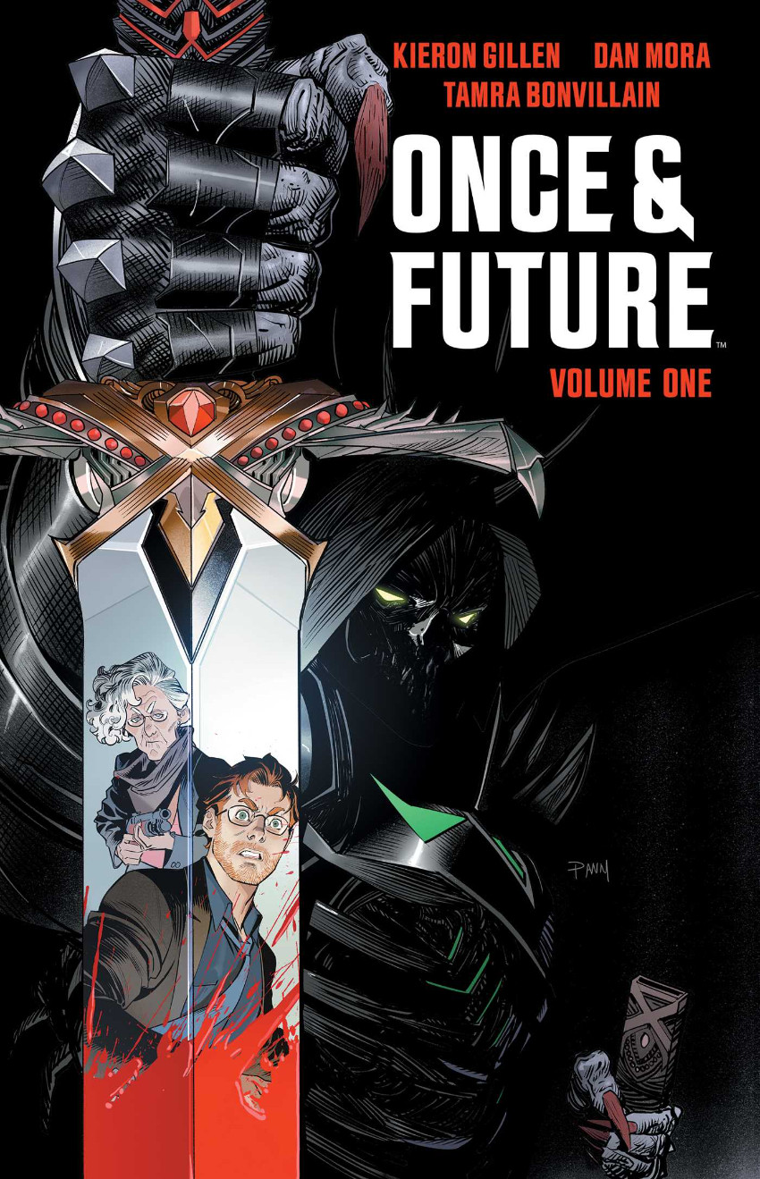 Couverture de Once & Future (Boom! Studios - 2019) -INT01- The King is Undead