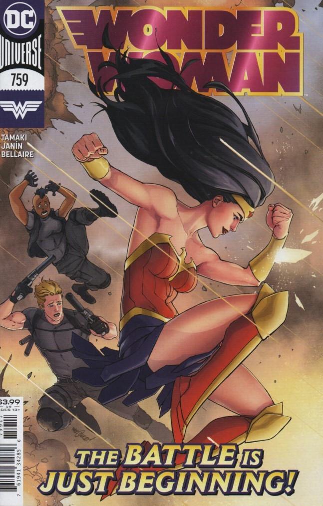 Couverture de Wonder Woman Vol.1 (DC Comics - 1942) -759- I Walk the Line