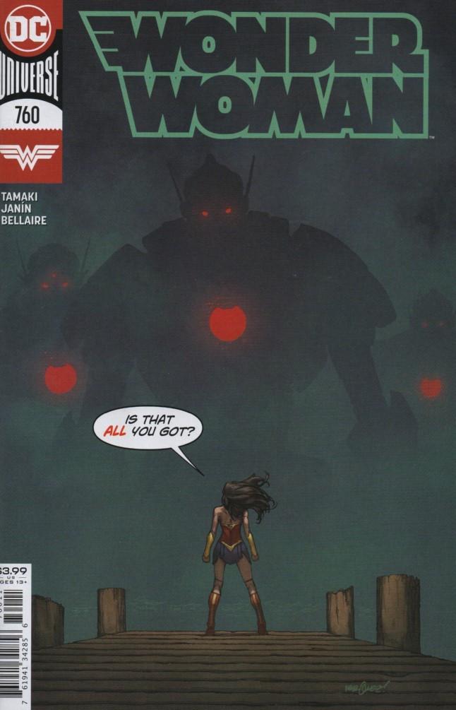 Couverture de Wonder Woman Vol.1 (DC Comics - 1942) -760- What Have I Done ?