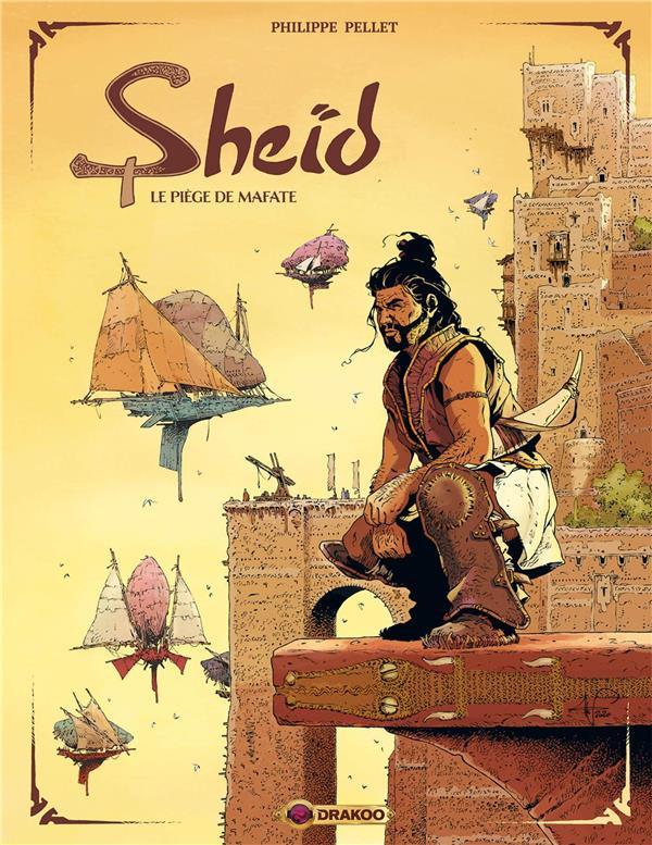 Couverture de Sheïd -1- Le piège de Mafate