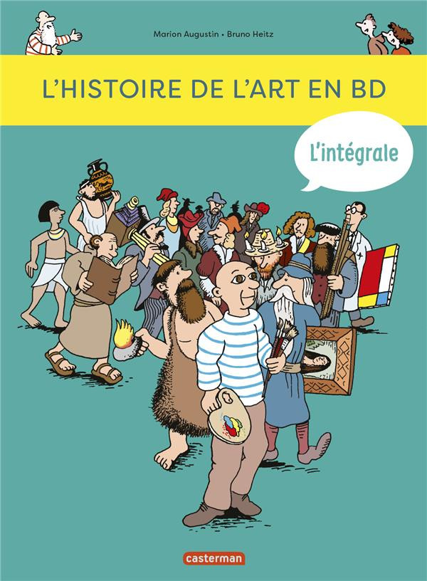 Couverture de L'histoire de l'art en BD -INT1- L'histoire de l'art en BD - L'intégrale
