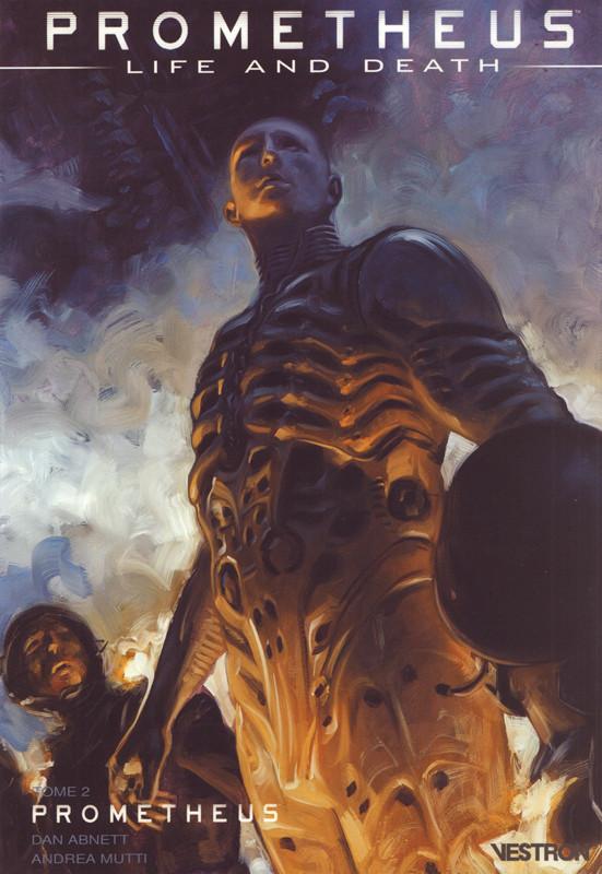 Couverture de Prometheus : Life and death -2- Prometheus