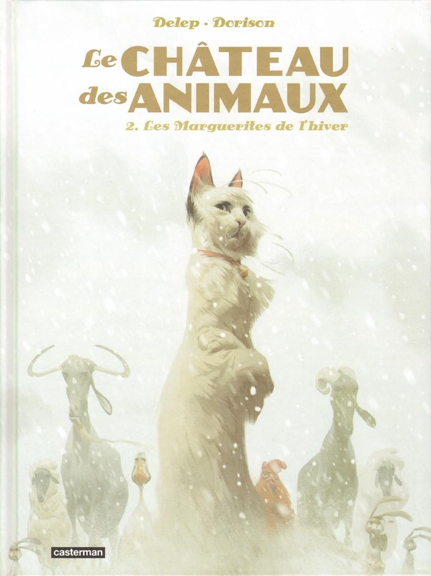 Couverture de Le château des Animaux -2- Les Marguerites de l'hiver