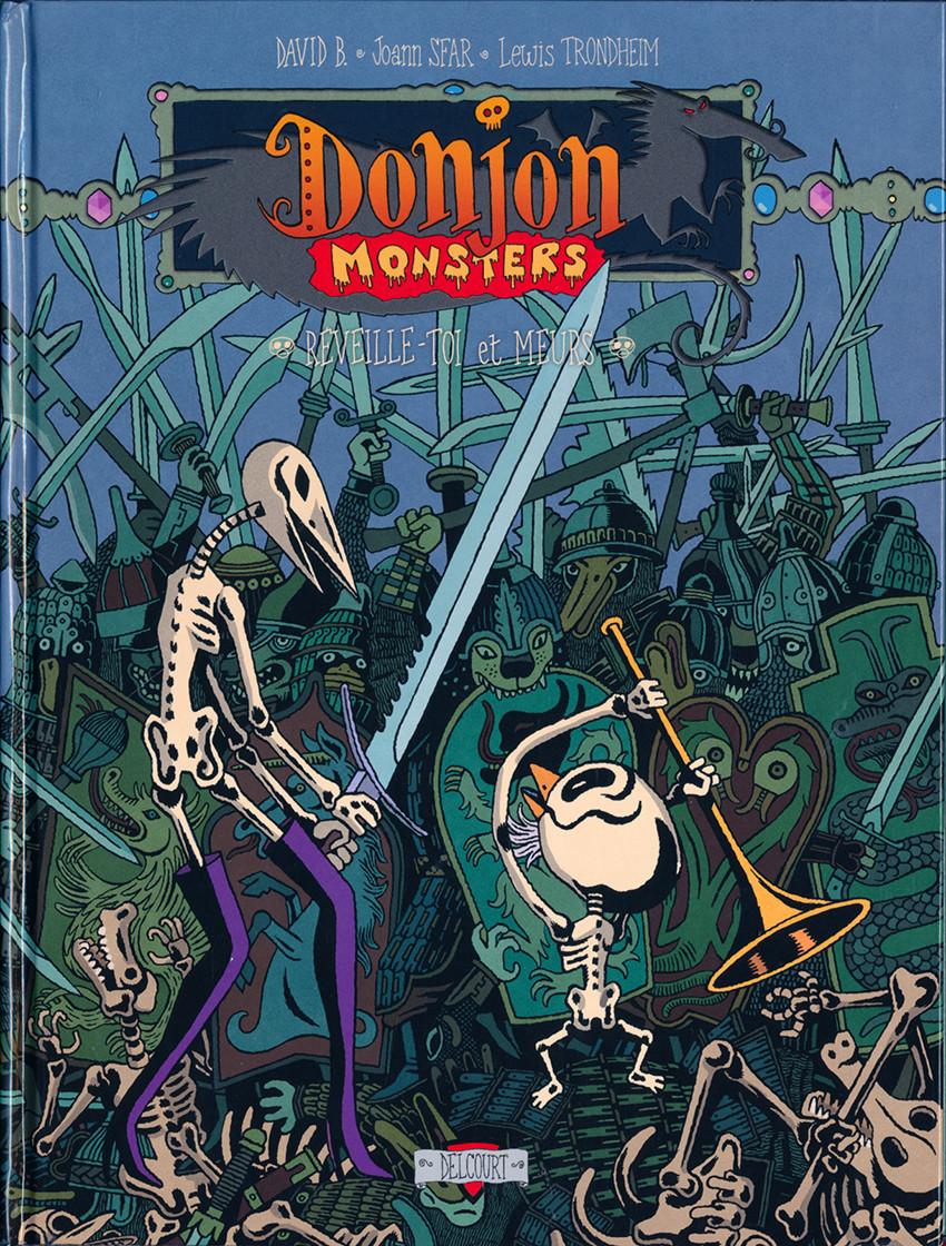 Couverture de Donjon Monsters -13- Réveille-toi et meurs