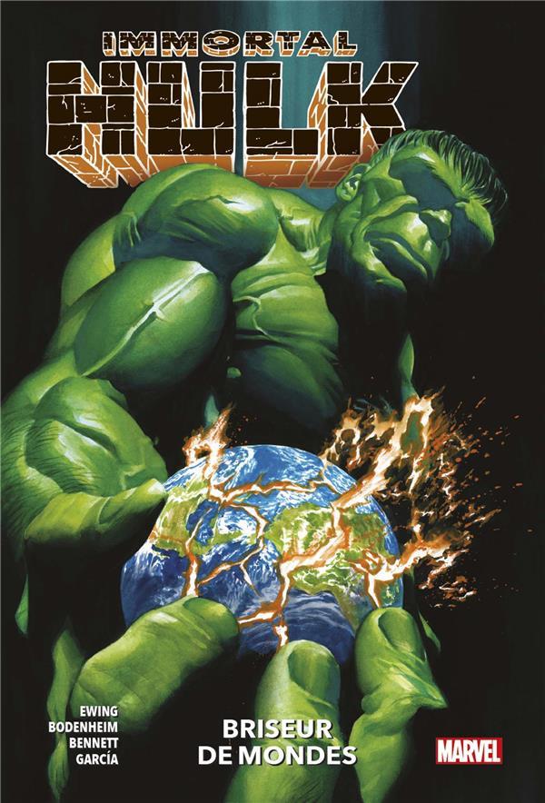 Couverture de Immortal Hulk -5- Briseur de mondes