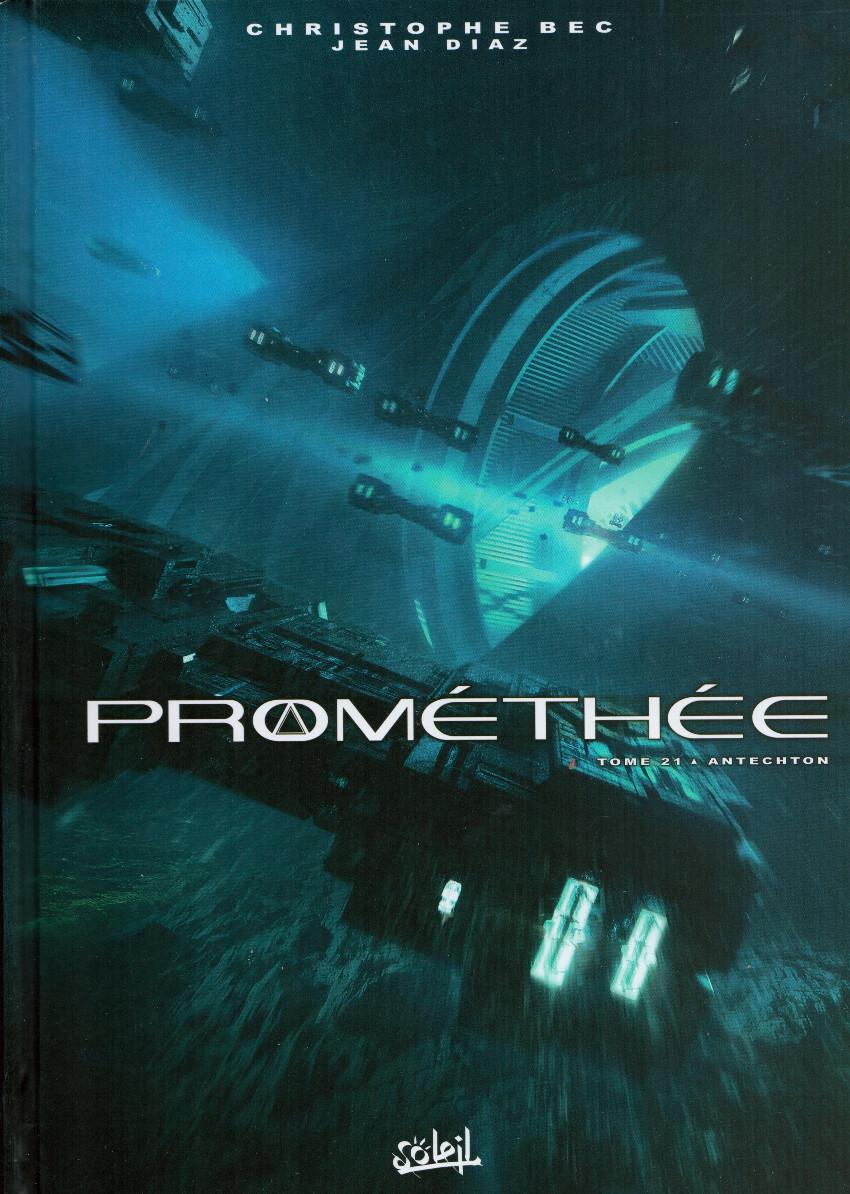 Couverture de Prométhée -21- Antechton