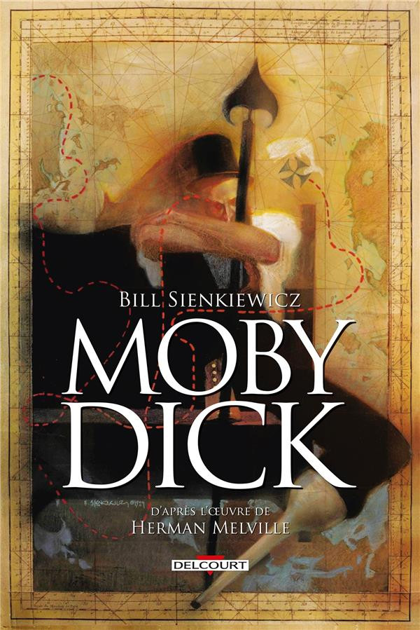 Couverture de Moby Dick (Sienkiewicz) - Moby Dick