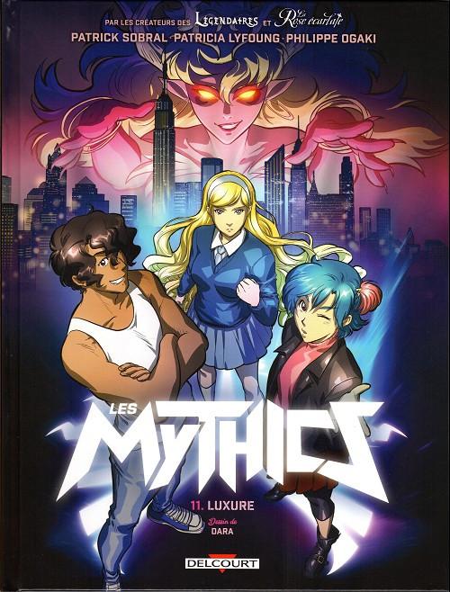 Couverture de Les mythics -11- Luxure