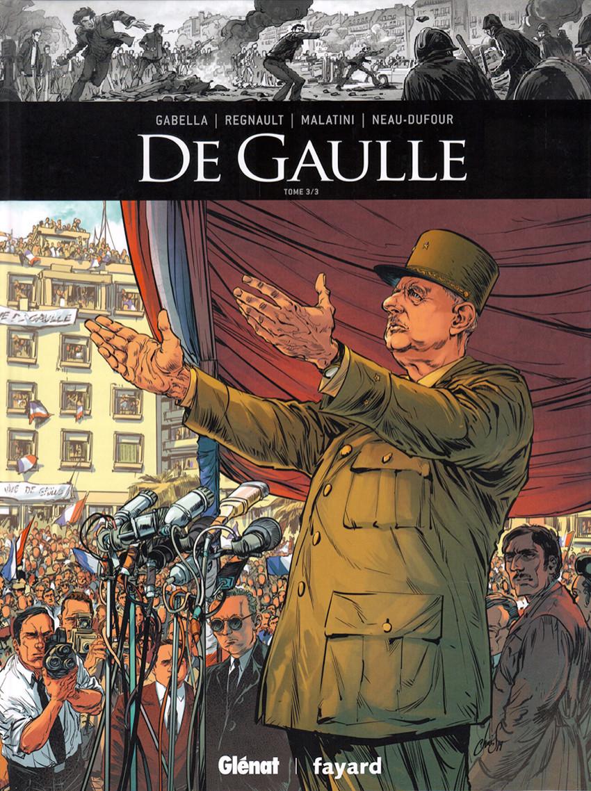Couverture de Ils ont fait l'Histoire -35- De Gaulle - Tome 3/3