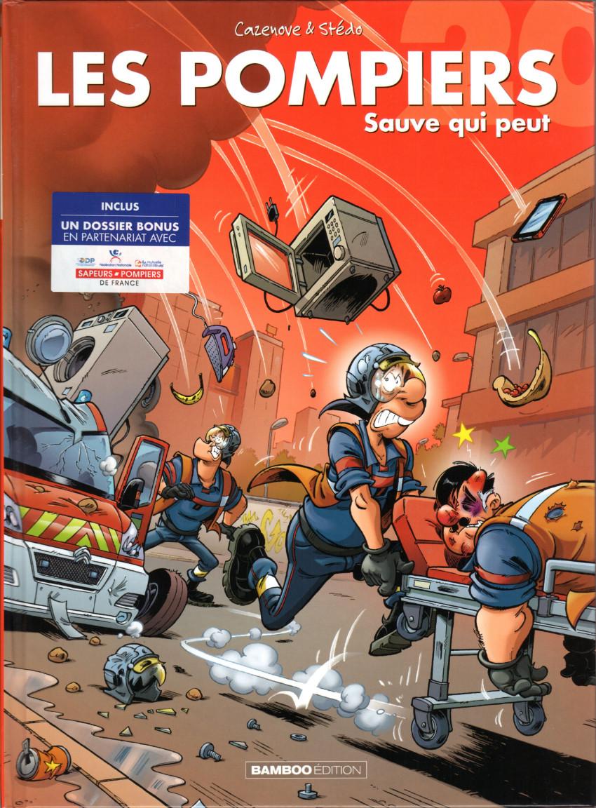 Couverture de Les pompiers -20- Sauve qui peut