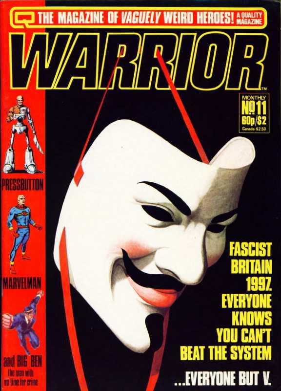 Couverture de Warrior (Quality comics - 1982) -11- Issue # 11