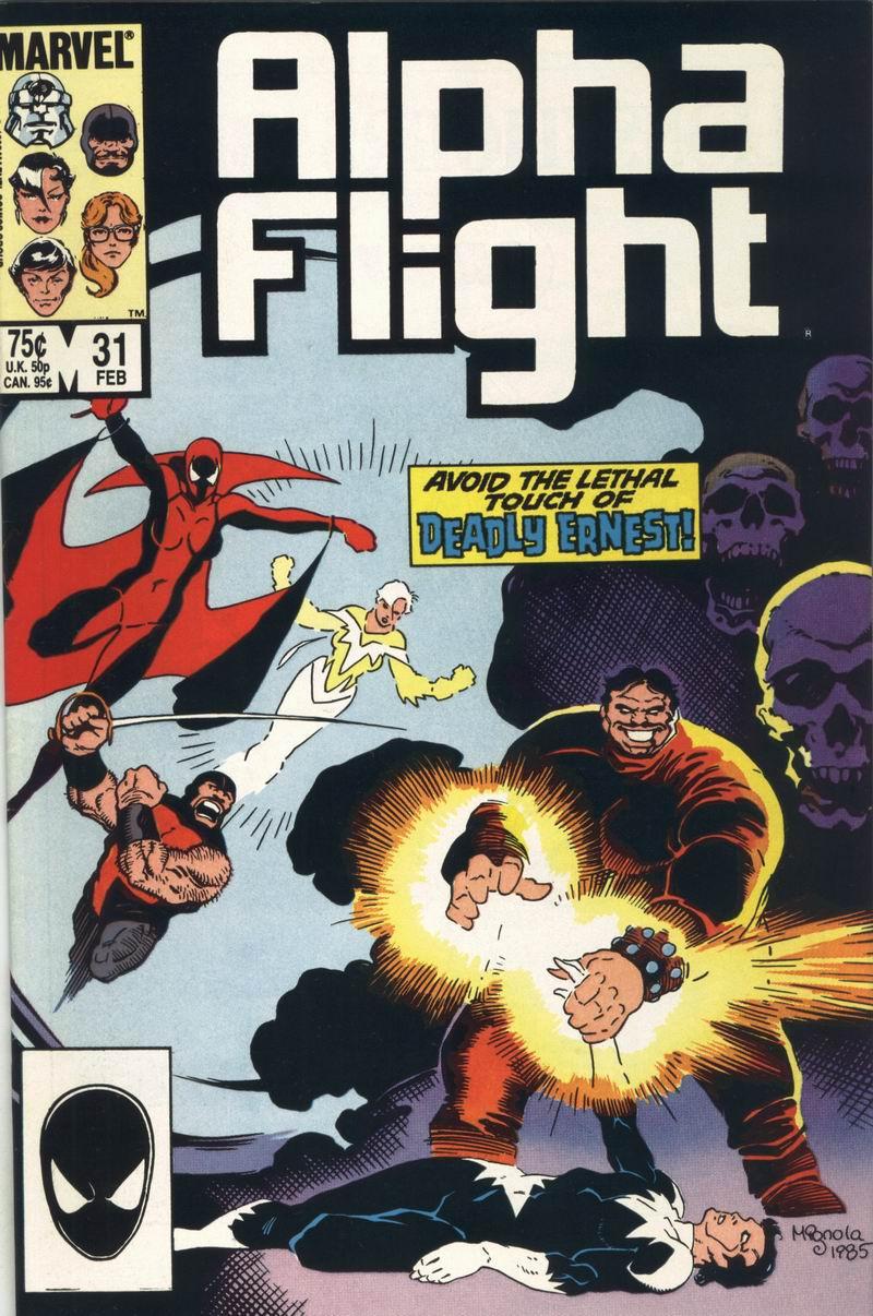 Couverture de Alpha Flight (Marvel comics - 1983) -31- The Grateful Dead!
