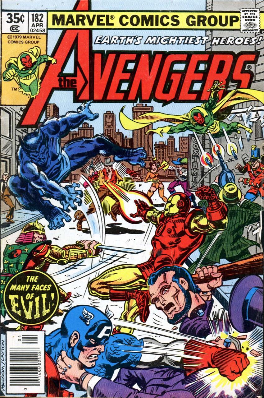 Couverture de Avengers (The) Vol. 1 (Marvel comics - 1963) -182- Honor thy Father