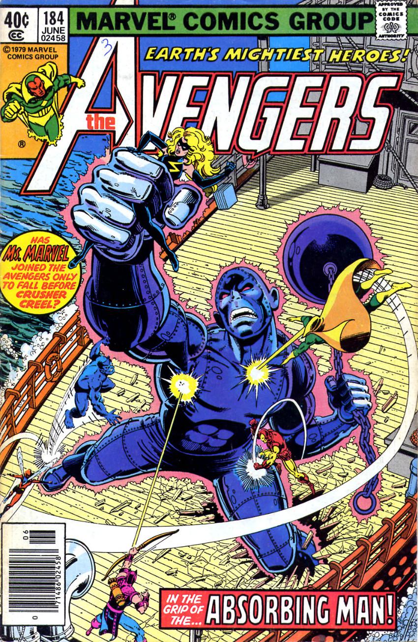 Couverture de Avengers Vol. 1 (Marvel Comics - 1963) -184-